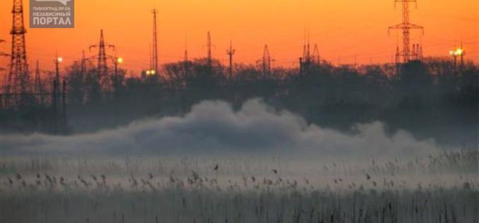 Почему в Павлограде горят высохшие лиманы? Фото с места событий