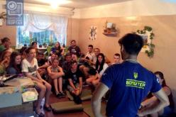 В Павлоград приехал волонтерский строительный лагерь «БУР»