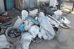 В Павлограде «прикрыли» пункт приема металлолома (ФОТО)