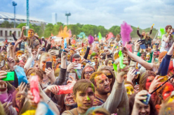 В Павлограде прошёл «Фестиваль красок» (ФОТО)