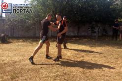 Полицейских Павлоградщины знакомили с израильской военной системой рукопашного боя (ФОТО и ВИДЕО)