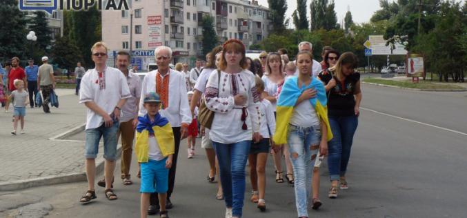 День Независимости Украины начался с Парада вышиванок (ФОТО и ВИДЕО)