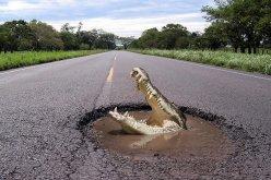 Через полторы недели начнется ямочный ремонт дорог, в том числе и за Павлоградом