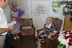 Жительницу Павлоградщины поздравили со 100-летним юбилеем