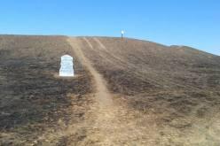 В Павлоградском районе выгорел памятник археологии — Мавринский майдан