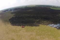 В Павлограде начался сезон пожаров прошлогодней травы