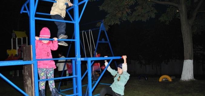 В Павлограде появились три новые детские площадки