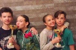 «Аллегровцы» привезли три кубка «Odessa open cup 2016»