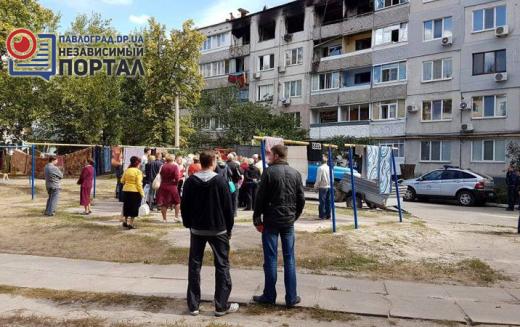 Жителям квартир, пострадавшим от взрыва, оказывают посильную помощь