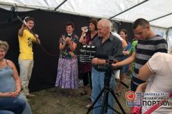 Павлоградская молодежь и вынужденные переселенцы снимают фильм