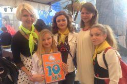 Павлоградские детки посетили благотворительный фестиваль «Мама + Я»