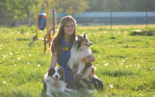 Девушка из Павлограда стала чемпионом Украины по аджилити