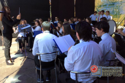 Впервые в Павлограде прошел фестиваль оркестров «Уездный городок» (ВИДЕО)