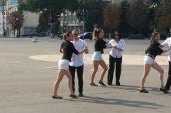 Павлоград принял участие во Всемирном танцевальном флешмобе