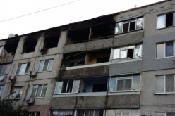 Часть жильцов дома, пострадавшего от взрыва, вернулись в свои квартиры
