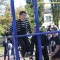 В Першотравенске открыли первую площадку для воркаута