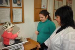 В Першотравенской амбулатории появилась комната для мам с младенцами