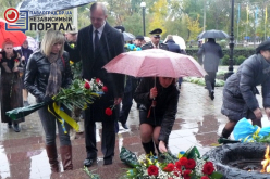 Сегодня в Павлограде чествуют защитников Украины (ФОТО)