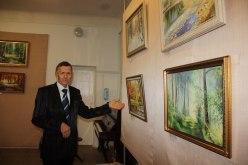 В Павлоградском музее открылась выставка пейзажей