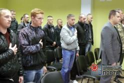 Павлоградский военкомат отправил на срочную службу первых призывников (ФОТО и ВИДЕО)