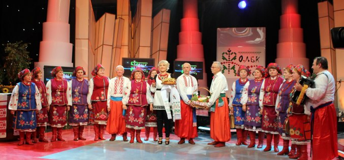 Народный хор «Єднання» побывал на съемках на Первом Национальном