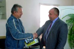 Павлоградец получил подарок  от «ДТЭК Днепрооблэнерго»