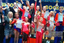 Воспитанники «Восторга» привезли в Павлоград награды чемпионата Украины