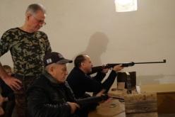 В Павлограде прошли соревнования по стрельбе среди людей с ограниченными возможностями