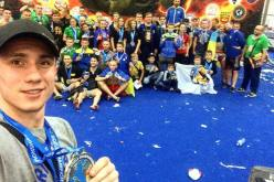 Несмотря на травму, першотравенский спортсмен смог стать чемпионом мира