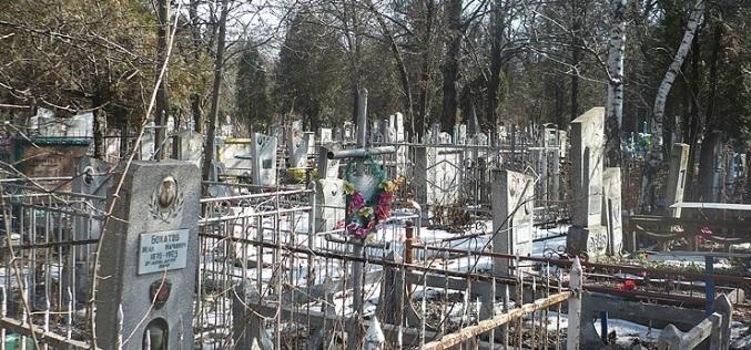 Вандал украл надгробие из нержавейки