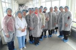 Павлоградские учителя побывали на экскурсии на молокозаводе