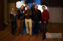 В Павлограде показывали спектакль с одним актером