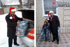 Павлоградских детишек поздравил… ромский Святой Николай!