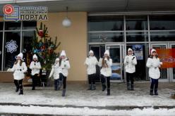 На Химзаводе открыли свою ёлку (ФОТО)