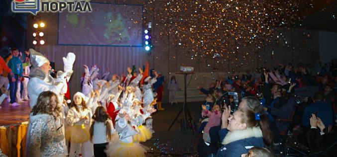 Для павлоградских детей создали театрализованный утренник  —  «Солнечное Рождество» (ФОТОРЕПОРТАЖ)