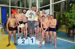 В Павлограде шахтеры соревновались в плавании (ФОТО)
