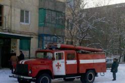 В Павлограде из-за пожара в шахте лифта едва не задохнулась женщина