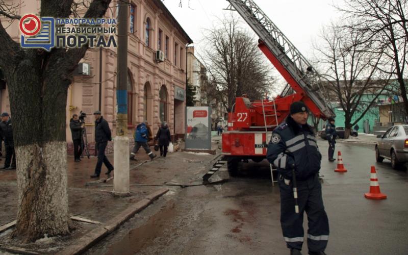 Павлоградские пожарные ликвидировали условный пожар в ночном клубе (ФОТО и ВИДЕО)