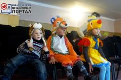 Новогодняя сказка для детей модульного городка