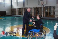 В Павлограде наградили спортсменов с ограниченными физическими возможностями