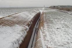 При строительстве трубопровода близи Павлограда «исчез» миллион гривен