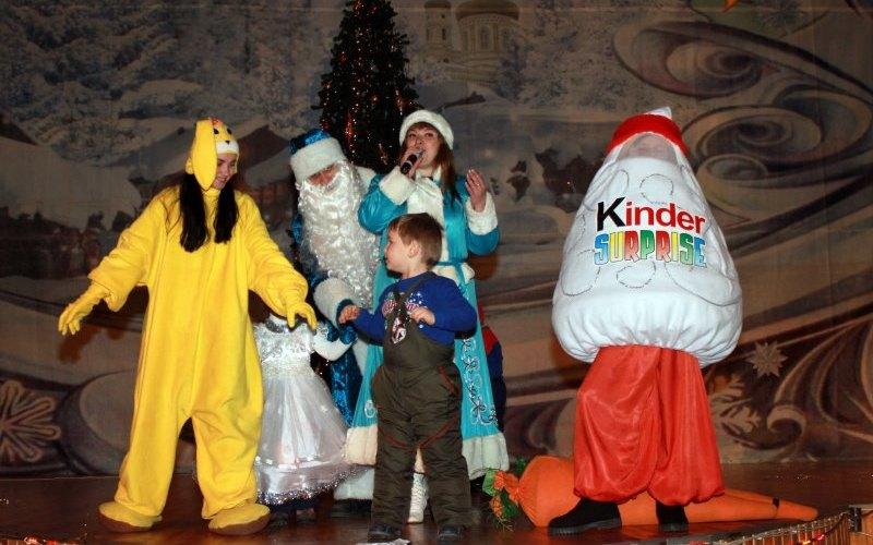 В Павлограде впервые прошел Рождественский бал для деток (ФОТО)