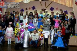 Дефиле авангардных костюмов представили ребята из школы №5 (ФОТО)