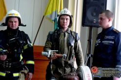 Павлоградские пожарные заменили некоторое советское снаряжение современным (ФОТО)