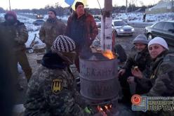 Павлоградские волонтеры присоединились к торговой блокаде Донбасса