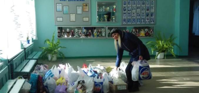 «Павлоград-Марьинка вместе!»: волонтеры привезли помощь в зону АТО (ФОТО)