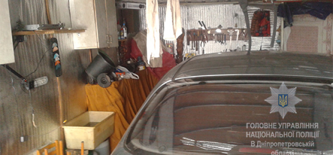 В Першотравенске ранее судимый мужчина обокрал гараж (ФОТО)