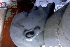 Памятник Ленину предлагают поместить в музей или сдать на металлолом (ВИДЕО)