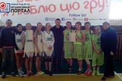 Павлоградские девчонки выбороли право участвовать в Чемпионате Украины по стритболу