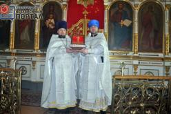 В Павлоград прибыла самая крупная в Украине частица Креста Господнего